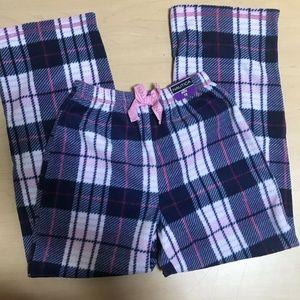 Nautica Girl's Sleep Pants Pink Fleece
